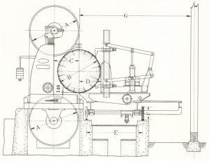 Вагонетка H-900 схема
